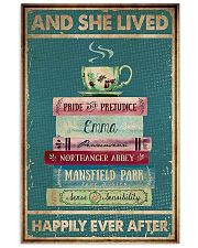 Book And Tea Poster 11x17 Poster front