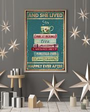 Book And Tea Poster 11x17 Poster lifestyle-holiday-poster-1