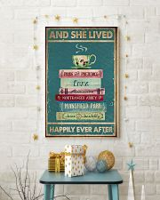 Book And Tea Poster 11x17 Poster lifestyle-holiday-poster-3