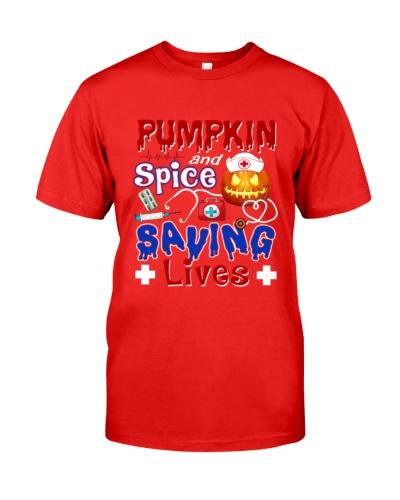 Nurse Pumpkin Save Lives