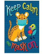 Keep Calm Mask On 11x17 Poster front