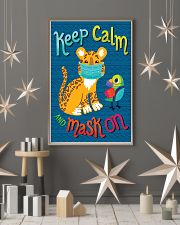 Keep Calm Mask On 11x17 Poster lifestyle-holiday-poster-1