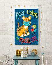 Keep Calm Mask On 11x17 Poster lifestyle-holiday-poster-3