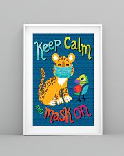 Keep Calm Mask On 11x17 Poster lifestyle-poster-5