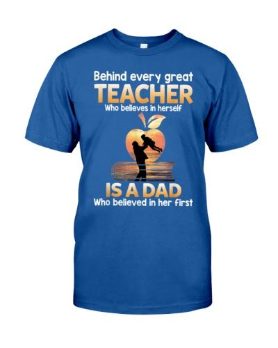 Teacher Behind Dad