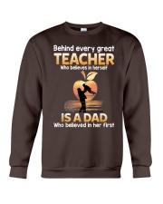 Teacher Behind Dad Crewneck Sweatshirt tile