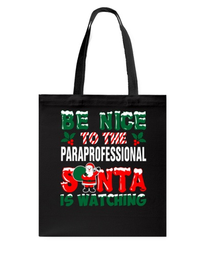 Paraprofessional Santa Watching