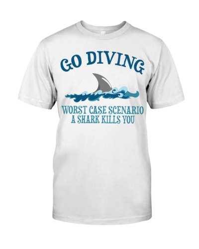 Scuba Diving Shark