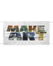 Make Art Mask Cloth face mask front