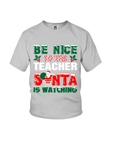 Teacher Santa Watching