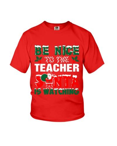 Teacher Santa Watching