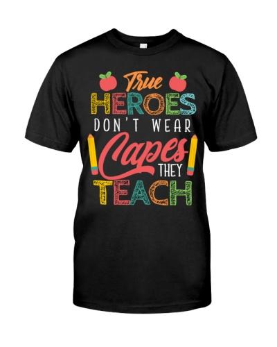 Teacher Hero Capes