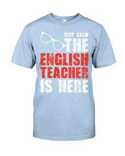 English Teacher Keep Calm