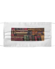 Book Lover Themed Mask Cloth face mask front