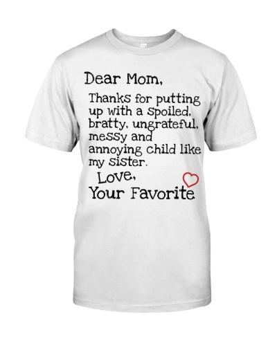 Mom Dear Favorite