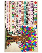 Teacher Deer Student 11x17 Poster front