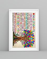 Teacher Deer Student 11x17 Poster lifestyle-poster-5