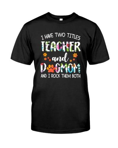 Teacher Dog Mom