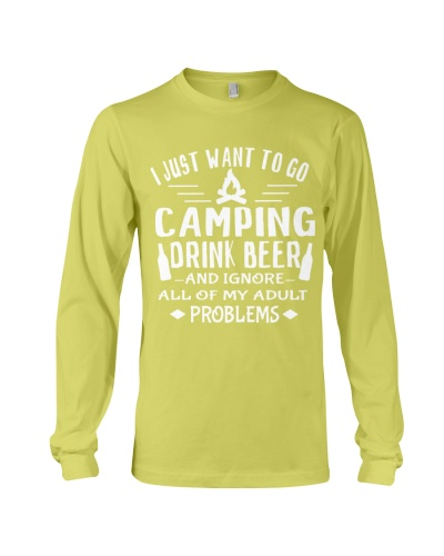 Camping adult problems