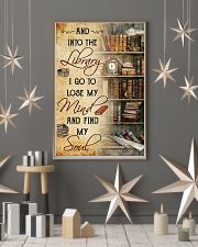 library i go to lose my mind poster 11x17 Poster lifestyle-holiday-poster-1