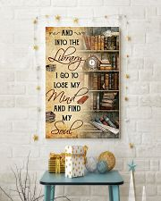 library i go to lose my mind poster 11x17 Poster lifestyle-holiday-poster-3