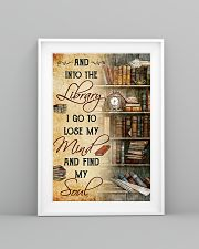library i go to lose my mind poster 11x17 Poster lifestyle-poster-5