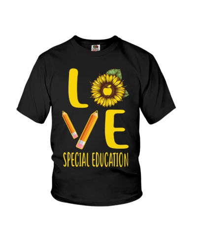 Special Education Love Sunflower