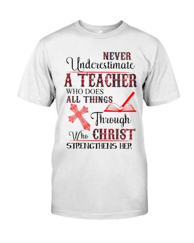 Teacher Never Streng