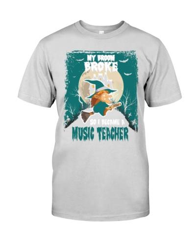 Music Teacher Became