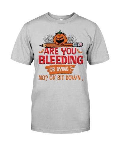 Teacher Bleeding