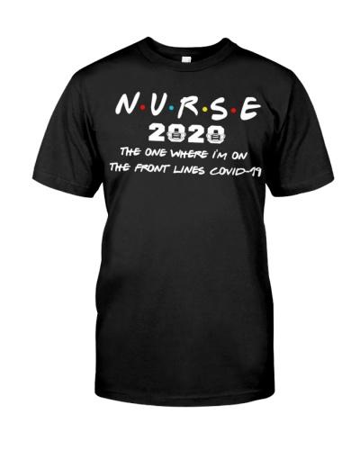 Nurse Front Covid