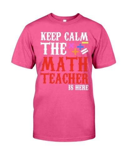 Math Teacher Keep Calm