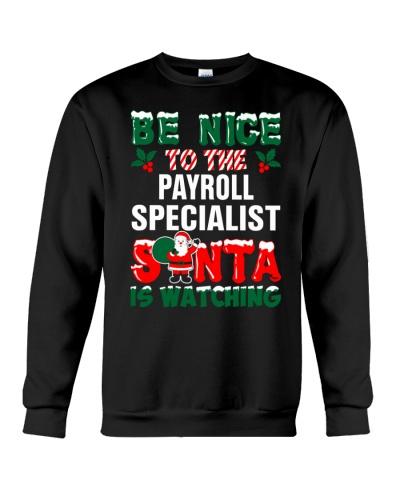 Payroll Specialist Santa Watching