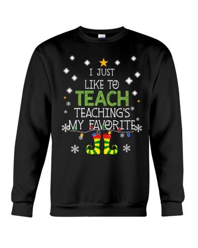 Teacher Teaching Christmas