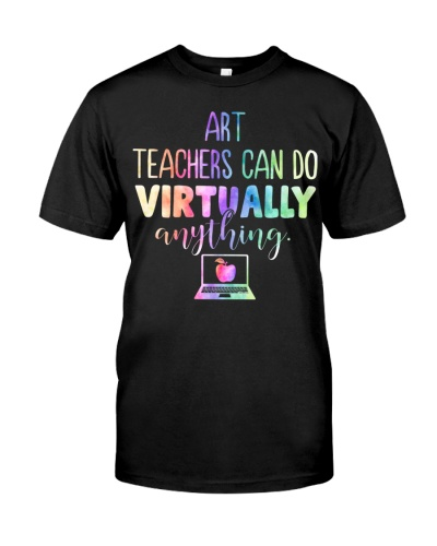 Art Teacher Can Do Virtually