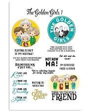 The Golden Girl Friend Poster 11x17 Poster front