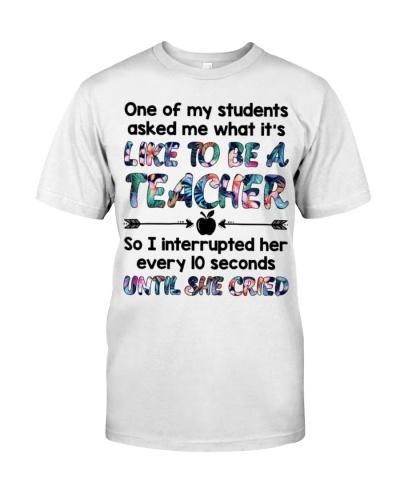 Teacher Like Until She Cried
