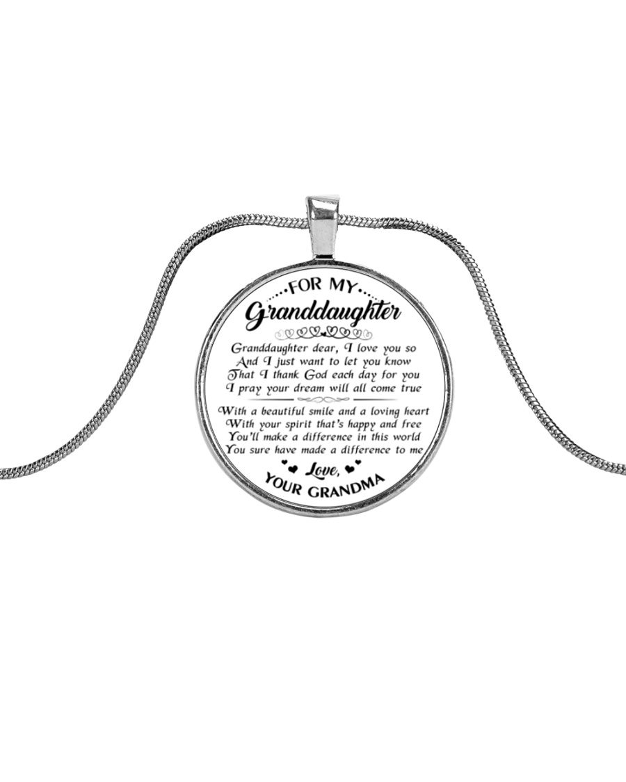 LIMITED EDITION - NOT SOLD IN STORES Metallic Circle Necklace