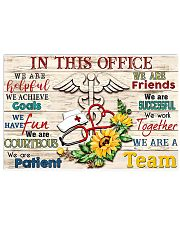 Nurse Office Poster 17x11 Poster front