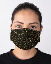 Music Note Black Mask Cloth face mask aos-face-mask-lifestyle-01