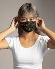 Music Note Black Mask Cloth face mask aos-face-mask-lifestyle-16