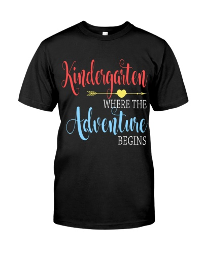 Kindergarten Adventure Begin
