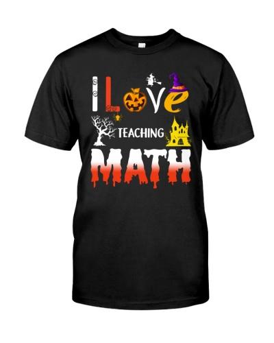 Math Teacher Halloween