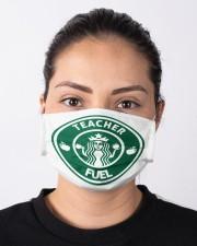 Teacher Fuel Mask Cloth face mask aos-face-mask-lifestyle-01