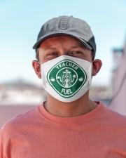 Teacher Fuel Mask Cloth face mask aos-face-mask-lifestyle-06