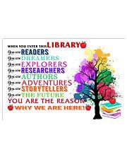 Librarian Teacher Poster 17x11 Poster front