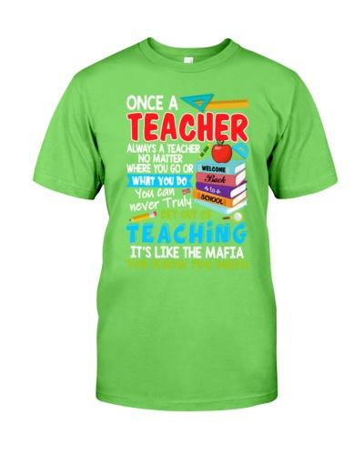 Teacher Know Too Much