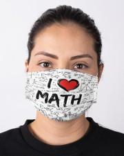 Math Love Mask Cloth face mask aos-face-mask-lifestyle-01