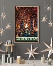 Library my happy place poster 11x17 Poster lifestyle-holiday-poster-1