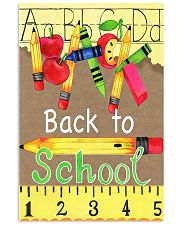 Back To School Poster 11x17 Poster front